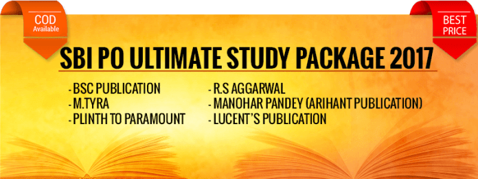 SBI PO Study Material 2017: Complete Banking Exams Combo Deal