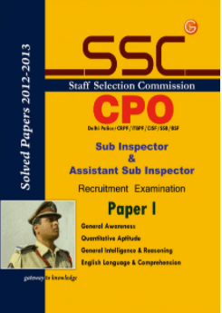 Guide to SSC CPO Sub-Inspector amp Asst Sub Inspector Recruitment Exam Paper 1