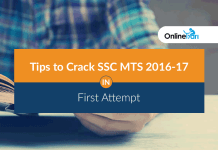 Tips to Crack SSC MTS 2016-17 in First Attempt
