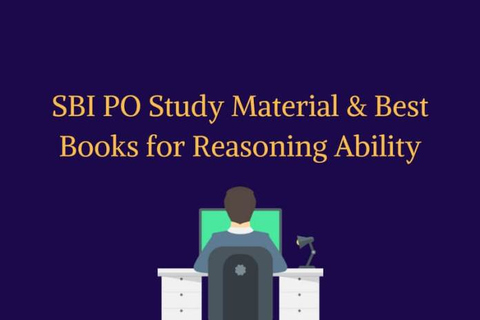 SBI PO Study Material, Best Books for Reasoning Ability