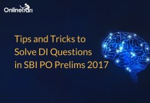 Tips and Tricks to Solve DI Questions in SBI PO Prelims 2017
