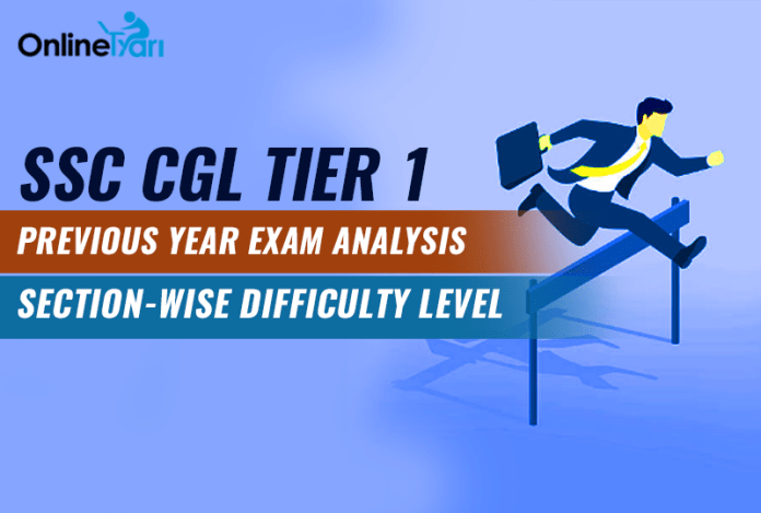 SSC CGL Tier 1 Previous Year Exam Analysis, Section-Wise Difficulty Level
