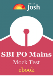 SBI PO Mains Mock Test E-Book