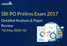 SBI PO Prelims 7th May 2017 (Shift 3) Exam Analysis, Review