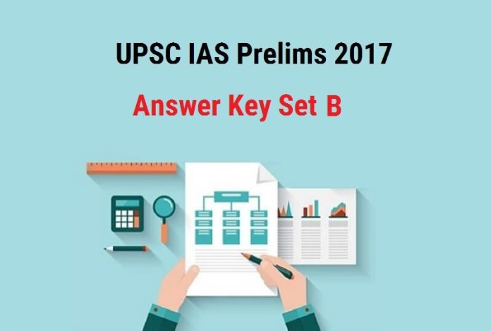 UPSC IAS Prelims 2017 Answer Key Set B |Compare your answers