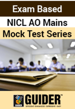Exam Based NICL AO Mains Mock Test Series