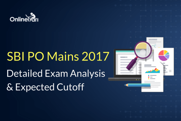 SBI PO Mains Exam Analysis, Review: 4th June 2017