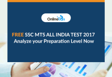 Free SSC MTS All India Test 2017: Analyze your Preparation Level Now