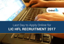 Last Day to Apply Online for LIC HFL Recruitment 2017