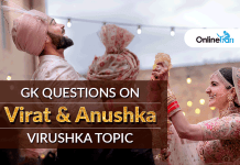Gk Questions on Virushka Topic (Virat Kohli & Anushka Sharma)