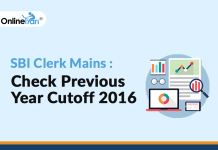 SBI Clerk Mains: Check Previous Year Cutoff 2016