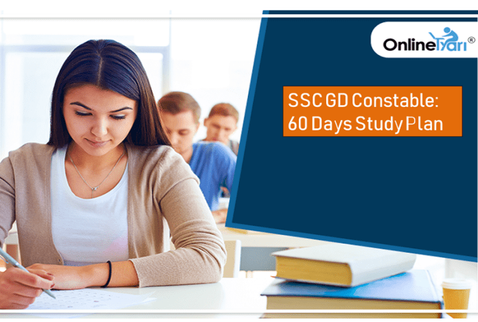 SSC GD Constable: 60 Days Study Plan