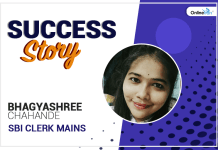 SBI Clerk Mains 2018 Success Story: Bhagyashree Chahande