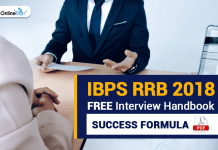 IBPS RRB 2018 FREE Interview Handbook: Success Formula PDF