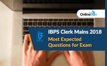 Blog-IBPS-Clerk Mains 2018-Most-Expected-Questions-For-Exam