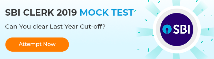 Free SBI CLerk MOCK TEST