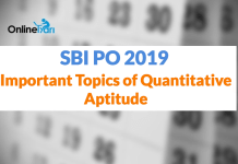 SBI PO Prelims 2019: Important Topics of Quantitative Aptitude