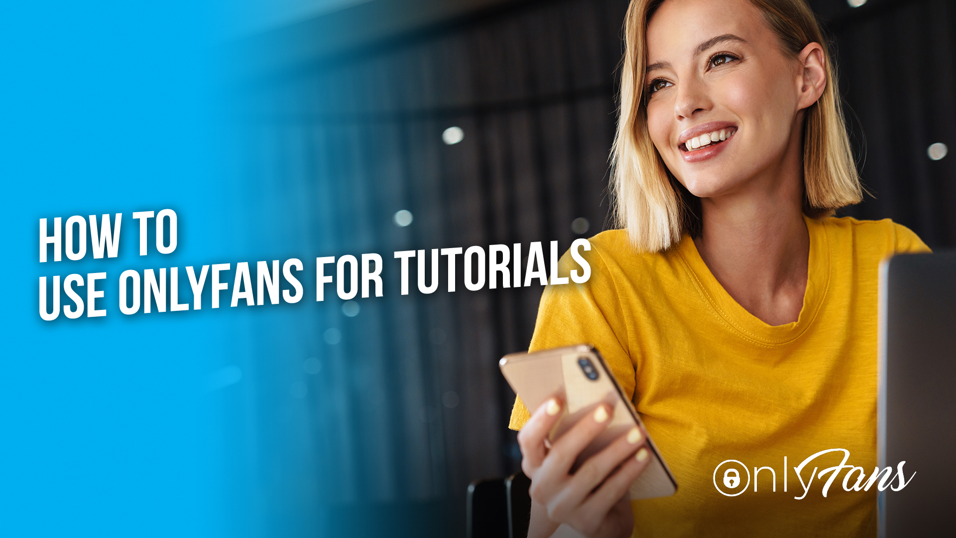 How to use OnlyFans for tutorials