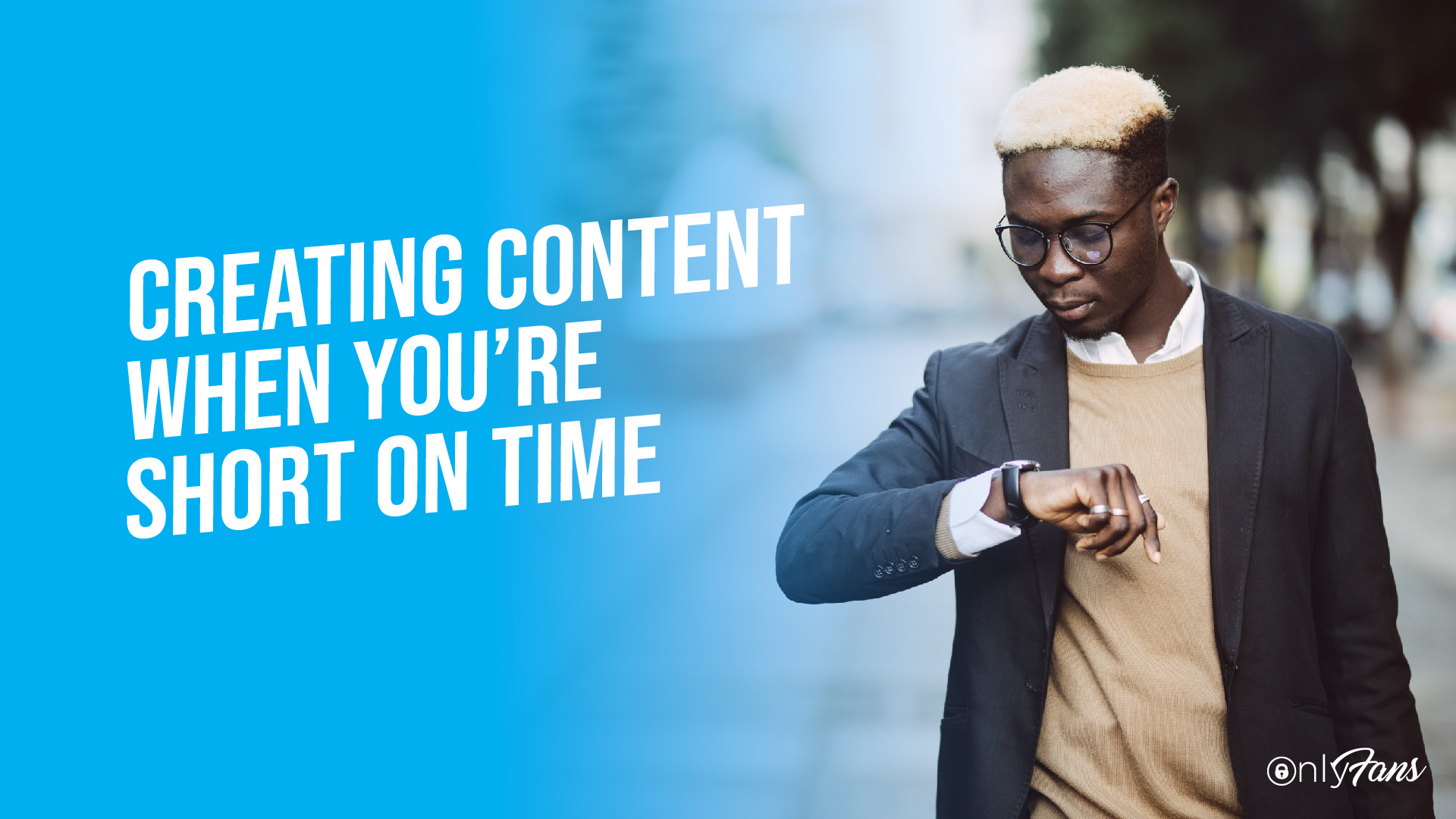 creating content when you're short on time