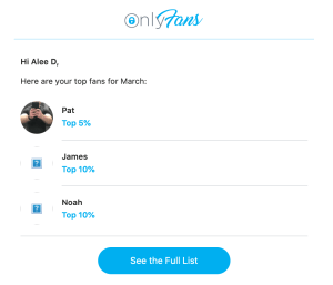 top fans on OnlyFans