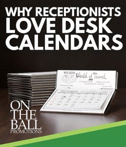 Reference desk calendars for reception counters