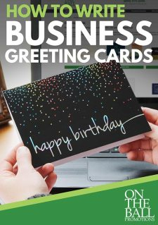 How To Write Business Greeting Cards