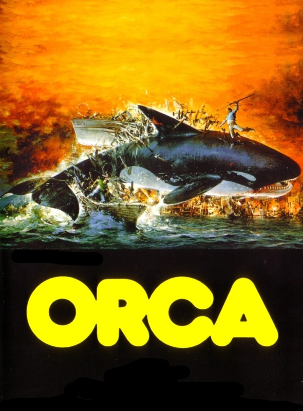 Orca The Killer Whale Poster