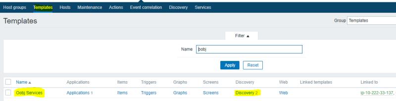 Discovery de serviços no Zabbix