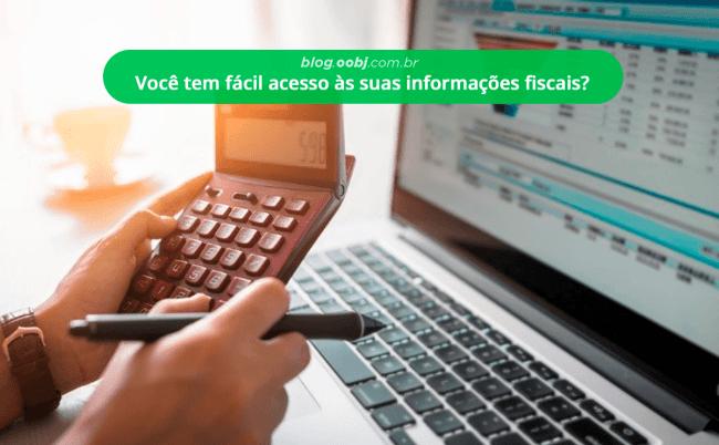 distribuição de informações fiscais