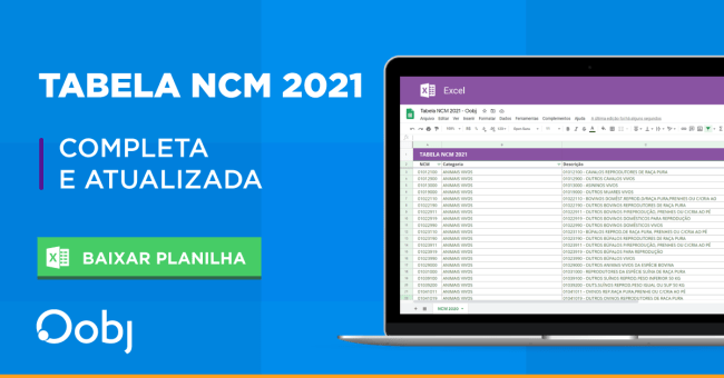 tabela ncm 2021