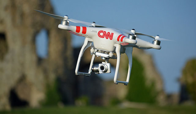 Drones and journalism a trend in the media industry