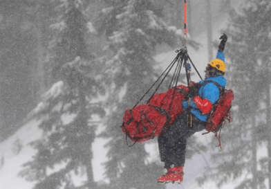 Rescuing an Olympic Skier in 2010