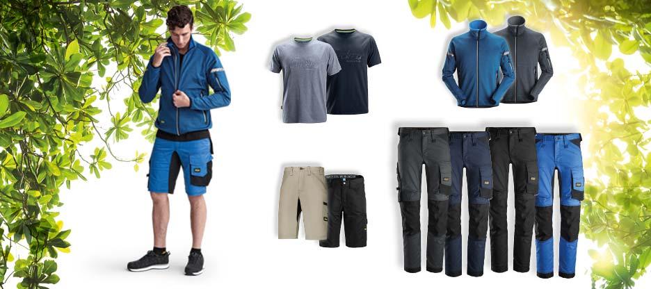OPO Arbeitskleidung für den Sommer