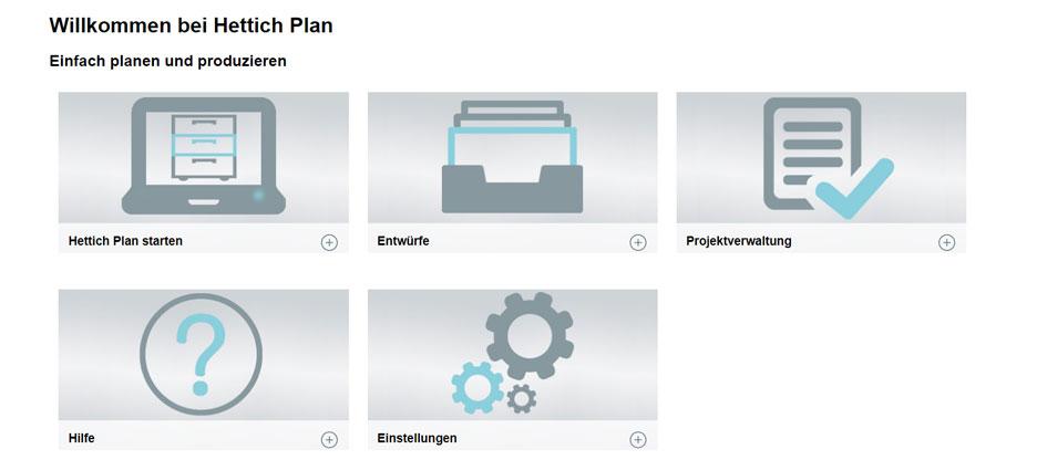 Kennen Sie den Hettich-Plan Möbel-Konfigurator?