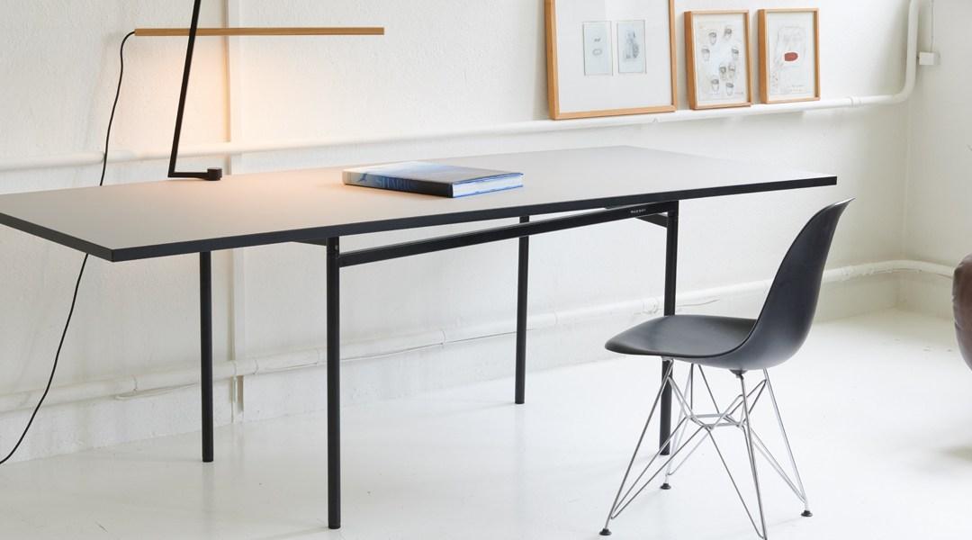 Individuell ausbaubares Tischgestell-System von Wald-Haus