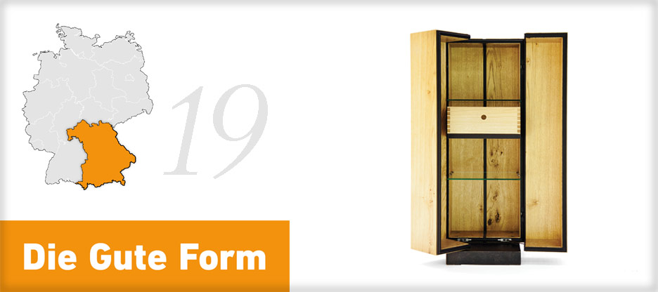 Die Gute Form 2013 – Hannes Schmidmayer, Bayern