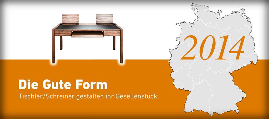 Nominationen des Landesverbandes Brandenburg für Die Gute Form 2014