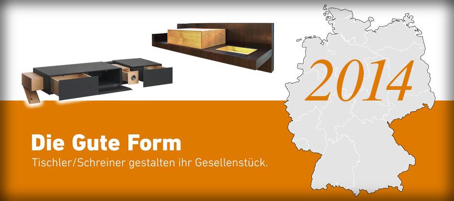 Nominationen des Landesverbandes Sachsen für Die Gute Form 2014