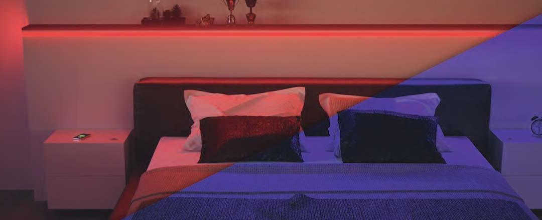 HALEMEIER Aktions-Set LED-Bänder Versa Inside MultiColor RGB 24 V