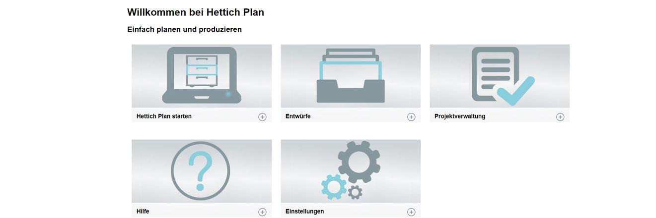 Hettich Plan Konfigurator