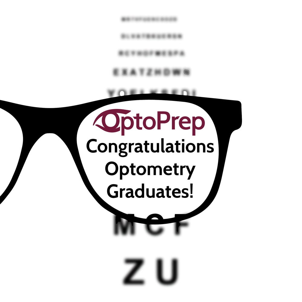 Congratulations to all of the New Optometry Graduates!