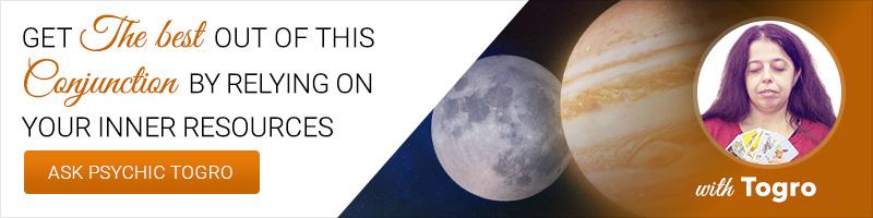 Moon Jupiter conjunction