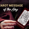 Tarot card message