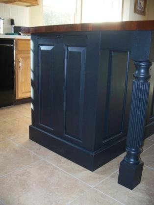 Osborne Wood Products Blog-Island Posts to Fit Three-Sided ...