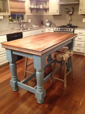 Osborne Wood Products Blog Painted Kitchen Island Legs For