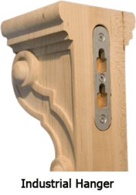 HANGING A CORBEL