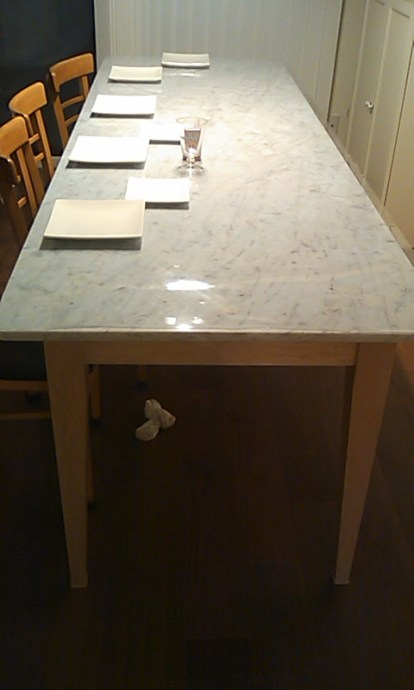 Tapered (2-sided) Dining Table Leg