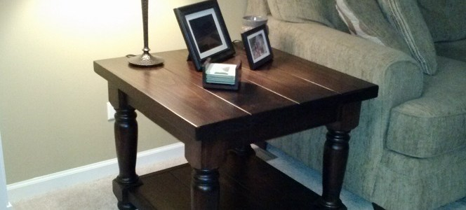 Heritage End Table Leg