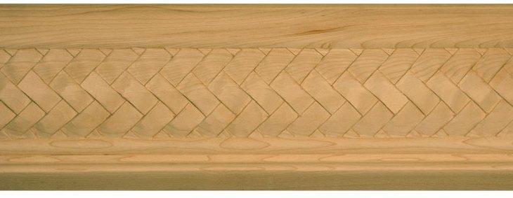 Basket Weave Crown Molding