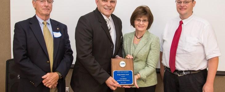 Leon Osborne Receives Bridge Builder Award